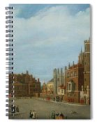 View Of St. James's Palace And Pall Mal Spiral Notebook