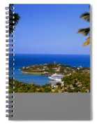 View Of St. Lucia Spiral Notebook