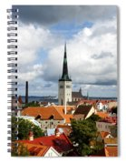 View Of St Olav's Church Spiral Notebook