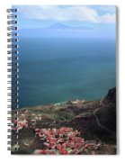 View Of Teide From La Gomera Spiral Notebook