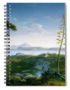 View Of The Bay Of Pozzuoli Spiral Notebook