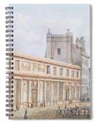 View Of The Ecole De Medecine Spiral Notebook
