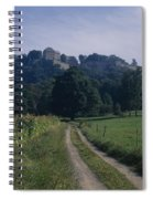 View Of The Fortress  Spiral Notebook