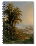 View Of The Harbor Of Puerto Cabello, Study Spiral Notebook