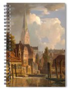 View Of The Little Alster Spiral Notebook