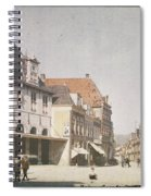 View Of The Market Horn  With The Statue Of Jan Pietersz Coen And The Waag Anonymous  1907   1930 Spiral Notebook