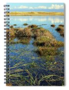 View Of The Marsh Spiral Notebook