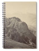 View Of The Mountains Of The Himalayas, Samuel Bourne, 1866 Spiral Notebook