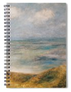 View Of The Sea Guernsey Spiral Notebook