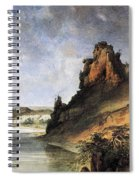 View Of The Stone Walls Spiral Notebook