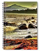 View Of The Sugarloaf Mountain From Killiney, 1b Spiral Notebook