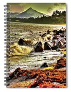 View Of The Sugarloaf Mountain From Killiney Spiral Notebook