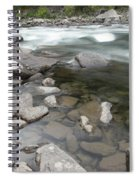View Of The Wenatchee River Spiral Notebook