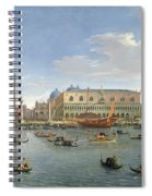 View Of Venice From The Island Of San Giorgio Spiral Notebook
