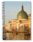 View Of Venice With San Simeone Piccolo Spiral Notebook
