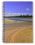 View Of Wollumboola Lake From Sand Dunes Spiral Notebook