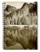 View Of Yosemite Spiral Notebook