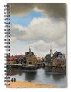 View On Delft Spiral Notebook