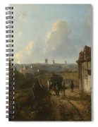 View On Montmartre Spiral Notebook