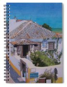 View On Obidos Spiral Notebook