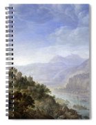 View On The Rhine Spiral Notebook