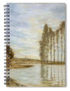 View On The Seine,  Harp Of The Winds , Homer Dodge Martin Spiral Notebook