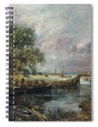 View On The Stour Near Dedham Spiral Notebook