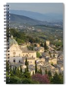 View Over Assisi Spiral Notebook