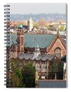 View Over Bristol With Bristol Grammar School Spiral Notebook
