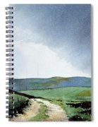 View Over Pole Moor Spiral Notebook