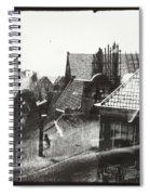 View Over Rooftops In Amsterdam  George Hendrik Breitner  C  1890    . 1910 Spiral Notebook