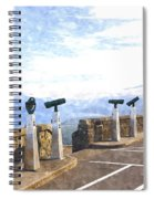 View The Columbia At The Vista House Spiral Notebook