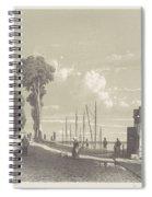 View The Veerweg Culemborg, Jan Weissenbruch, 1847 - 1865 Spiral Notebook