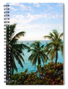 View To The 7 Mile Bridge Spiral Notebook