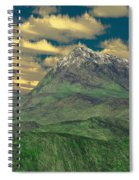 View To The Mountain Spiral Notebook