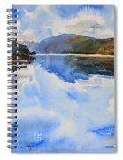 View Towards Skye Spiral Notebook
