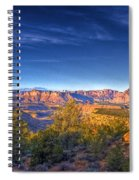 View Zion From Afar Spiral Notebook