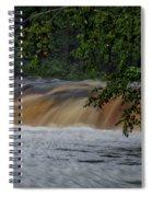 Viewing Tahquamenon Lower Falls Upper Peninsula Michigan 02 Spiral Notebook