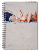 Views At The Beach Spiral Notebook