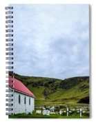 Vik Church And Cemetery - Iceland Spiral Notebook