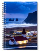 Vik Iceland Spiral Notebook