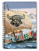 Viking Ship Spiral Notebook