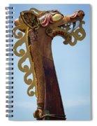 Viking Ship Dragon Head Spiral Notebook