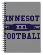 Vikings Retro Shirt Spiral Notebook