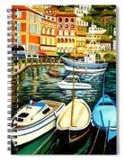 Villa Franche Spiral Notebook