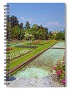 Villa Taranto Gardens,lake Maggiore,italy Spiral Notebook