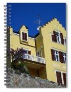 Villa Weiss Spiral Notebook