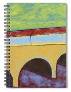 Village And Bridge Spiral Notebook
