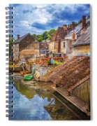 Village At The River Spiral Notebook