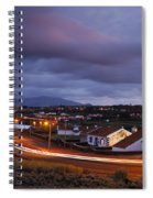 Village At Twilight Spiral Notebook